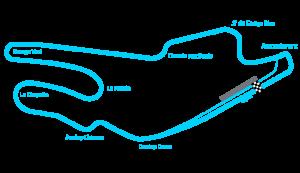 Circuit layout_lemans_Track
